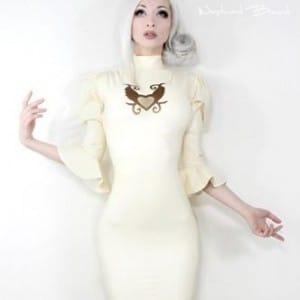 Dame Pérignon Latex Dress by Westward Bound