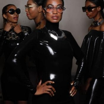Stevie Boi sbshades Noir collection and westward Bound latex clothing design
