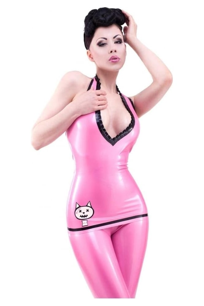 Bad Kitty Latex Rubber Top
