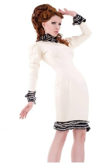 Baroness De Femme Latex Rubber Dress
