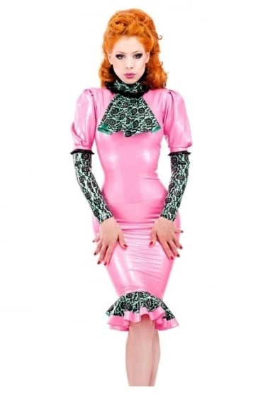Bordelle-L'Amour Jabot Latex Rubber Top.