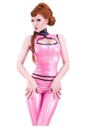 Bordelle-L'Amour Kitten Latex Rubber Top