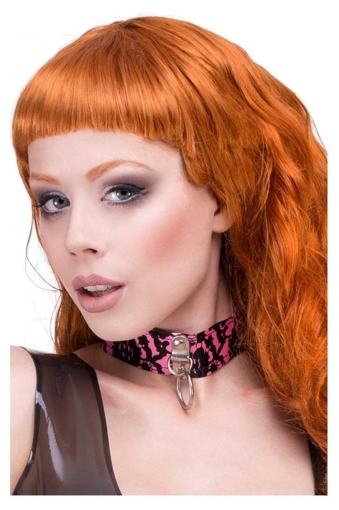 Bordelle-L'Amour Ring Latex Rubber Collar