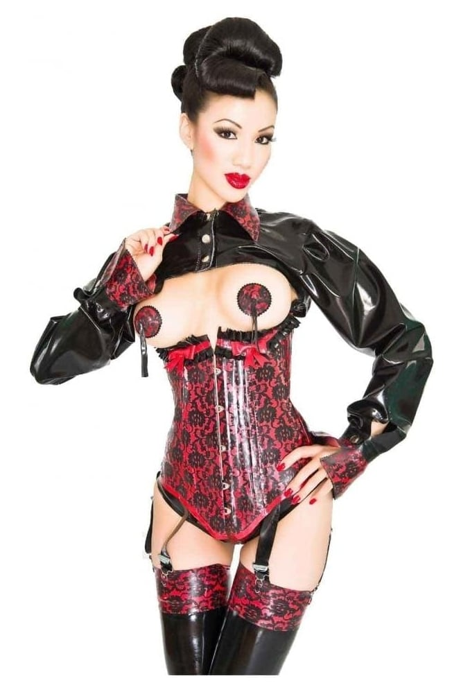 Bordelle-L'Amour Shoulder Latex Rubber Bolero