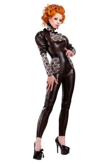 Bordelle-L'Amour Smoochy Latex Rubber Leggings.