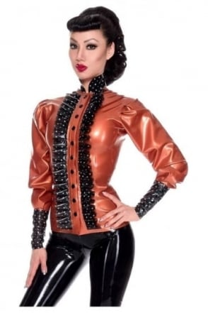 Bossy Boo Rubber Latex Blouse.