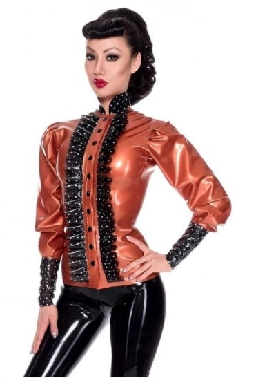 Bossy Boo Rubber Latex Blouse
