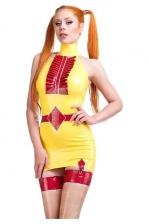 Braggard Bliss Tux Latex Rubber Top