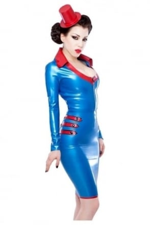 Cadette Latex Rubber Skirt