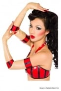 Chi Chi Transparent Latex Rubber Mitts