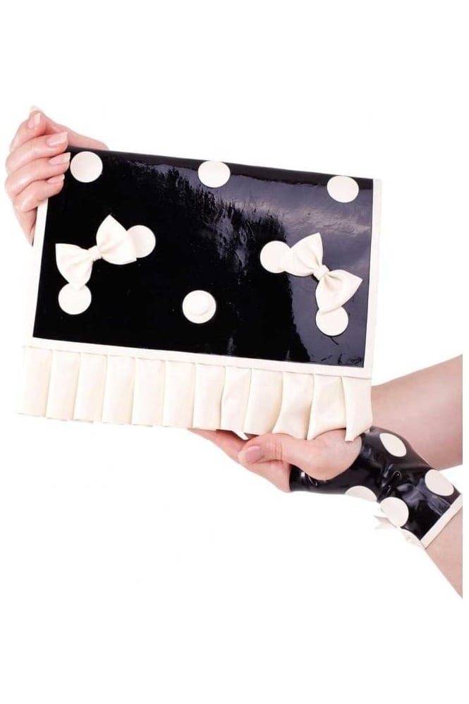 Cirque-Sucre Latex Rubber Clutch Bag.