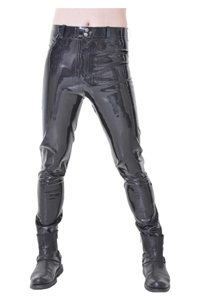 Classic Latex Rubber Jeans