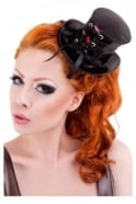 Corset Cabaret Mini Latex Rubber Top Hat