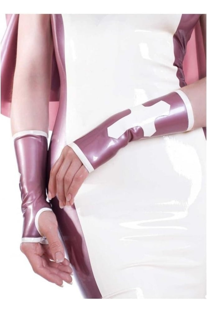 Cross Latex Rubber Mitts