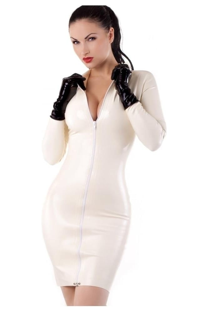 Cruel Maiden Latex Rubber Dress.