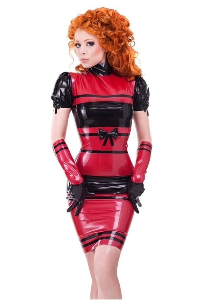 Dame Subversion Latex Rubber Dress.