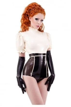 Damoiselle Latex Rubber Top