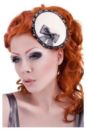 Damsella Disc Mini Latex Rubber Fascinator