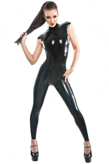 Deluxe Slinky Latex Rubber Catsuit.