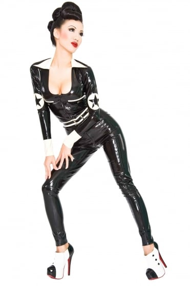 Deploy Latex Rubber Catsuit.