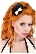 Dita-Dynamite Latex Rubber Fascinator