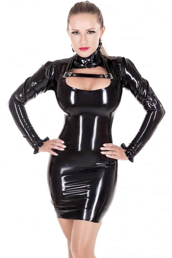 Domme Heavenly Latex Rubber Dress