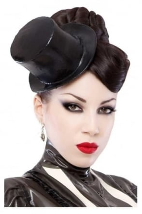 Dorian Delish Mini Latex Rubber Top Hat