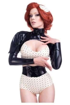 Ego Fabulosa Latex Rubber Bolero
