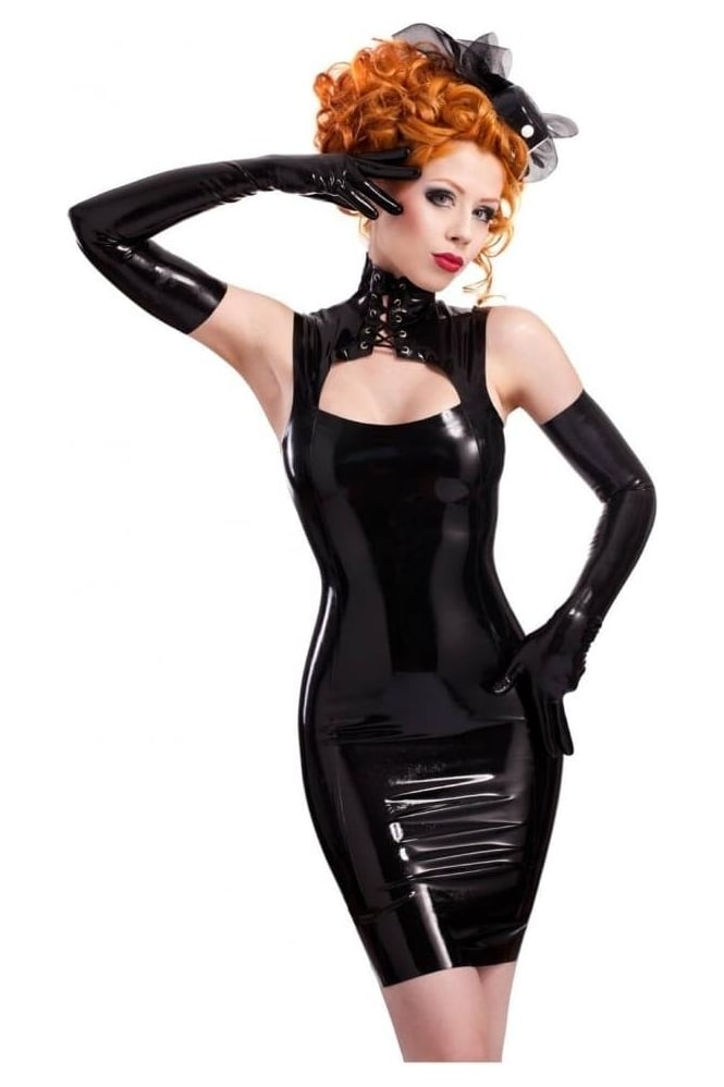 Emilie Latex Rubber Dress.