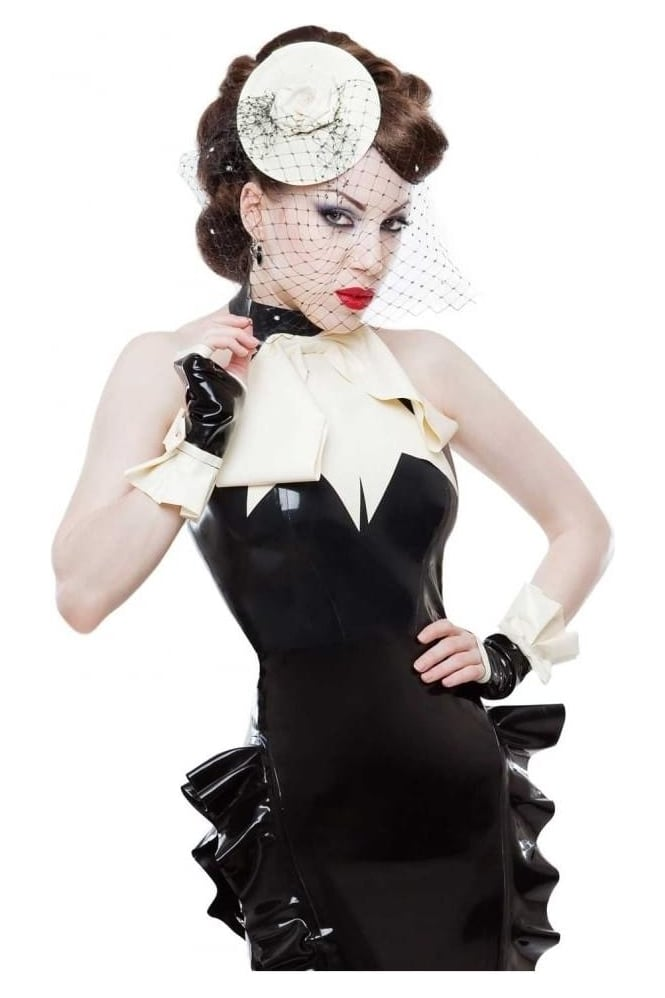 Femme Latex Rubber Mitts
