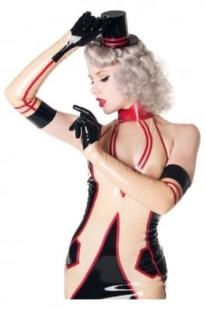 Fifi Von X- Frolic Latex Rubber Gloves