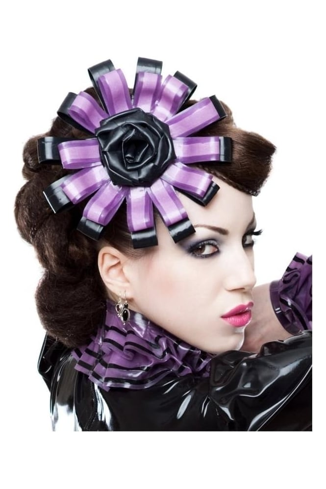 Fleur Latex Rubber Fascinator