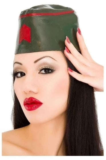 G.I Jane Military Latex Rubber Hat