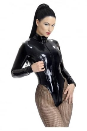 Gwendoline Latex Rubber Leotard.