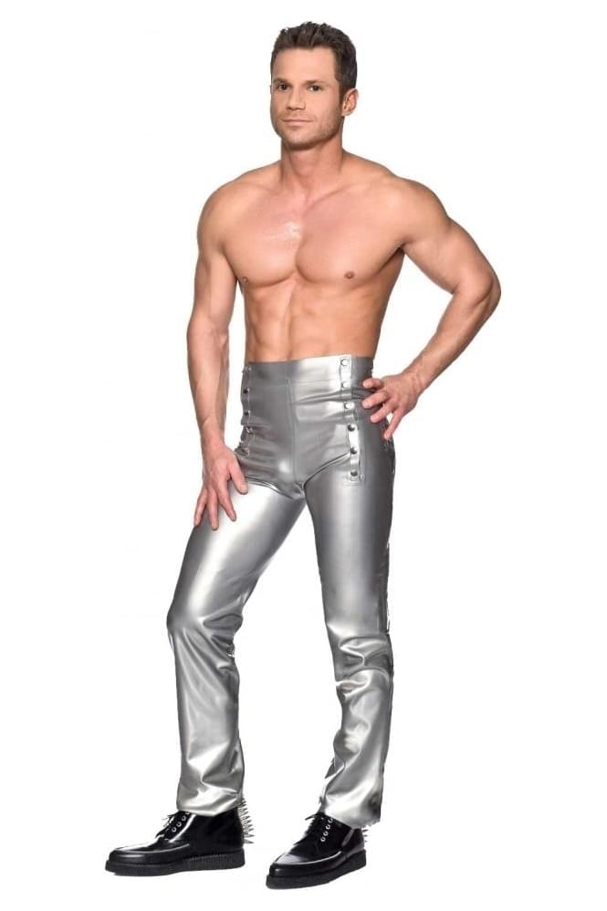 Juan Straight Leg Rubber Latex Trousers