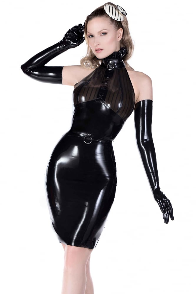Kink O.Ring Pencil Latex Rubber Skirt