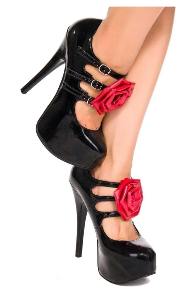 Latex Rubber Shoe Rose (Pair).