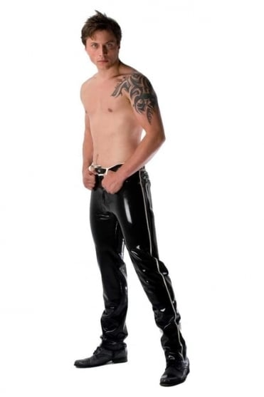 Liberation Classic Latex Rubber Jeans.