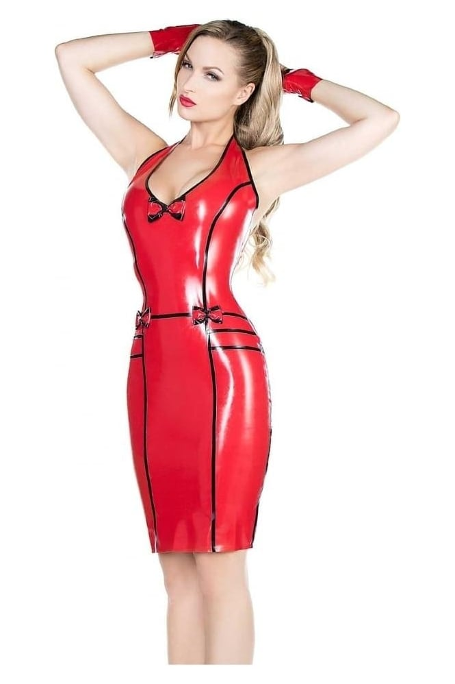 Lucky Love Latex Rubber Dress