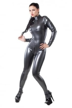 Lucretia Deluxe Latex Rubber Catsuit