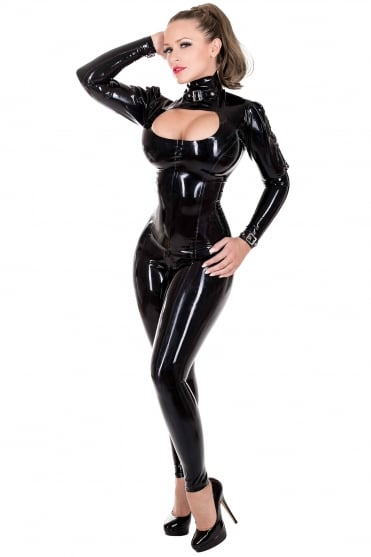 Madame Milano Latex Rubber Catsuit