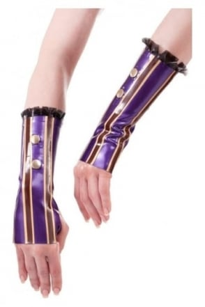 Madame Verne-Wells Wanderlust Latex Rubber Mittens