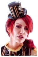 Madame Verne-Wells Wanderlust Mini Latex Rubber Hat
