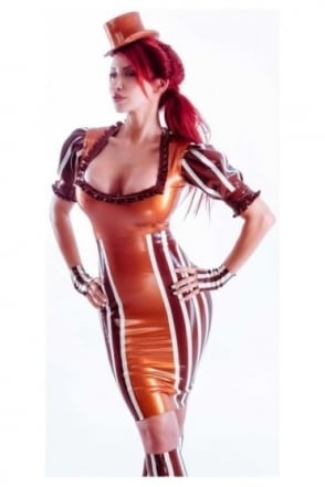 Madame Victorie Von Luc Latex Rubber Skirt