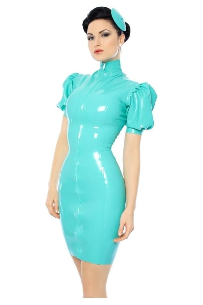 Mansfield Kitti Latex Rubber Dress.