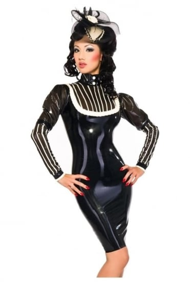 Marquise De Femme Latex Rubber Dress