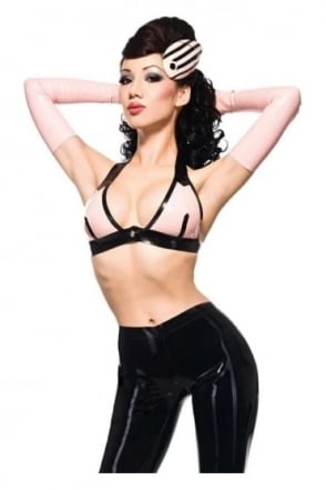 Maxim Latex Rubber Bra