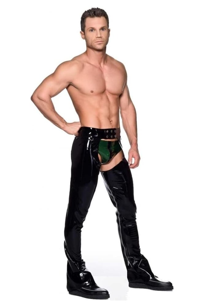 Men's Latex Rubber Chaps.