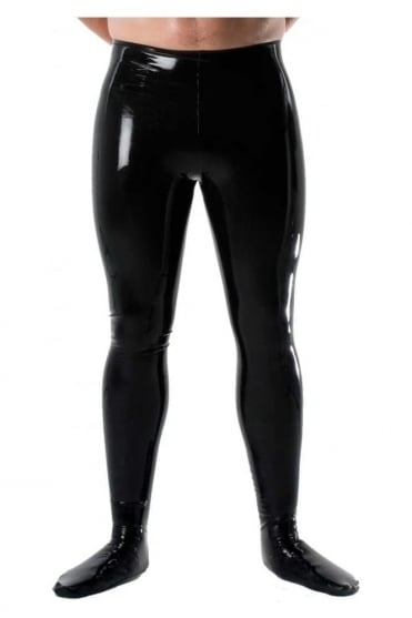 Men's Latex Rubber Tights.