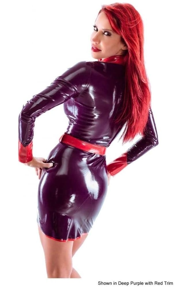 Minxy Latex Rubber Dress.